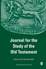 Journal for the Study of the Old Testament | SAGE