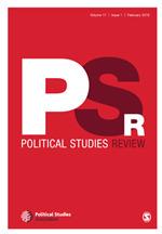 Political Studies Review | SAGE Publications Ltd