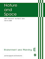 Environment and Planning E: Nature and Space | SAGE Publications Ltd