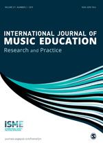 International Journal of Music Education   SAGE Publications Ltd