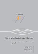 Research Studies in Music Education | SAGE Publications Ltd