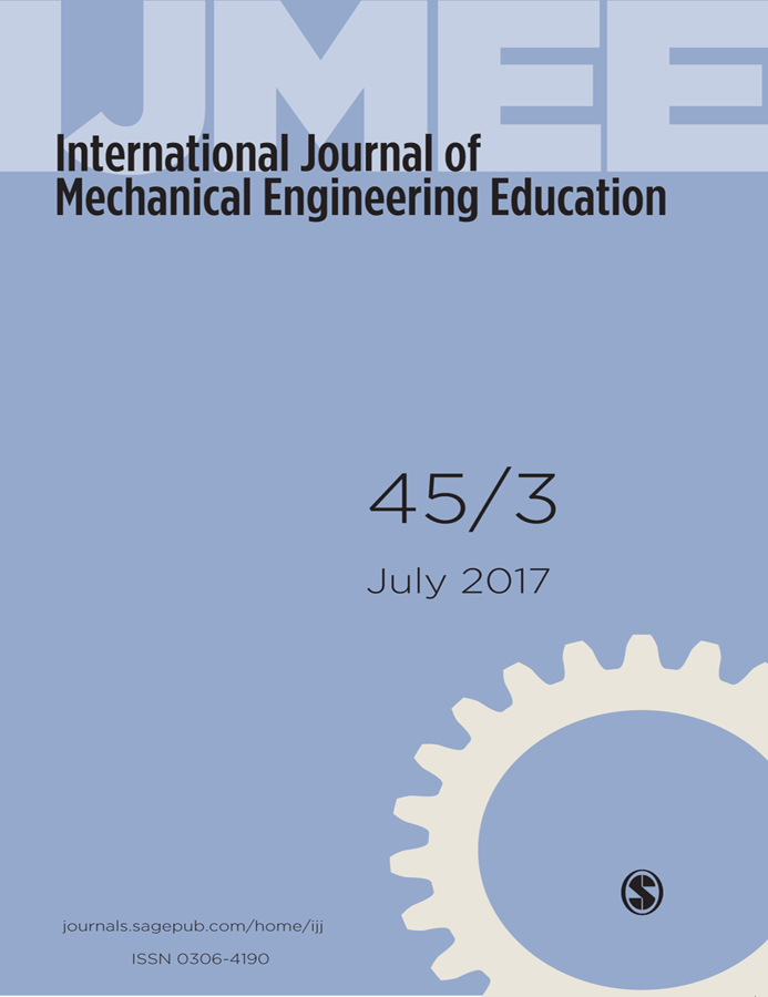 mechanical engineering and international journal The international journal of mechanical engineering education is aimed at teachers and trainers of mechanical engineering students in higher education and focuses on the discussion of the principles and practices of training professional, technical and mechanical engineers and those in related fields.