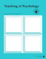 Teaching of Psychology