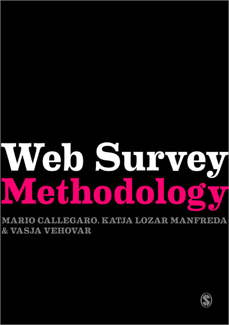 Callegaro, Web Survey Methodology
