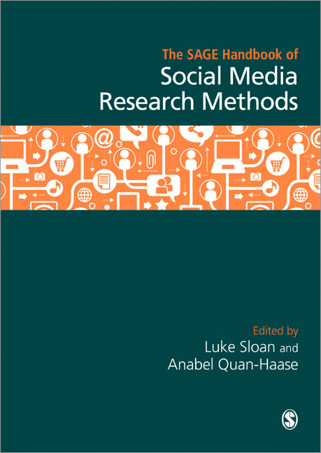 Sloan & Quan-Haase, The SAGE Handbook of Social Media Research Methods