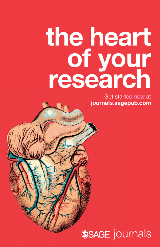 SAGE Journals - The Heart of Your Research Poster