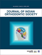 Journal of Indian Orthodontic Society