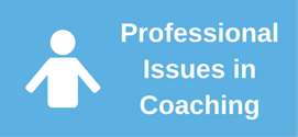 Professional Issues in Coaching Button