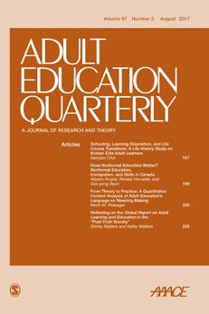 Adult Education Quarterly