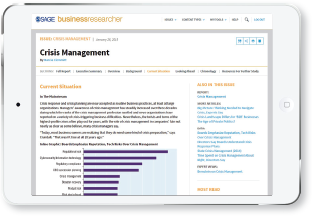 Business Researcher iPad screenshot