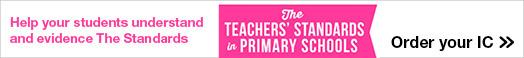 The Teachers Standards in Primary School trainee teacher