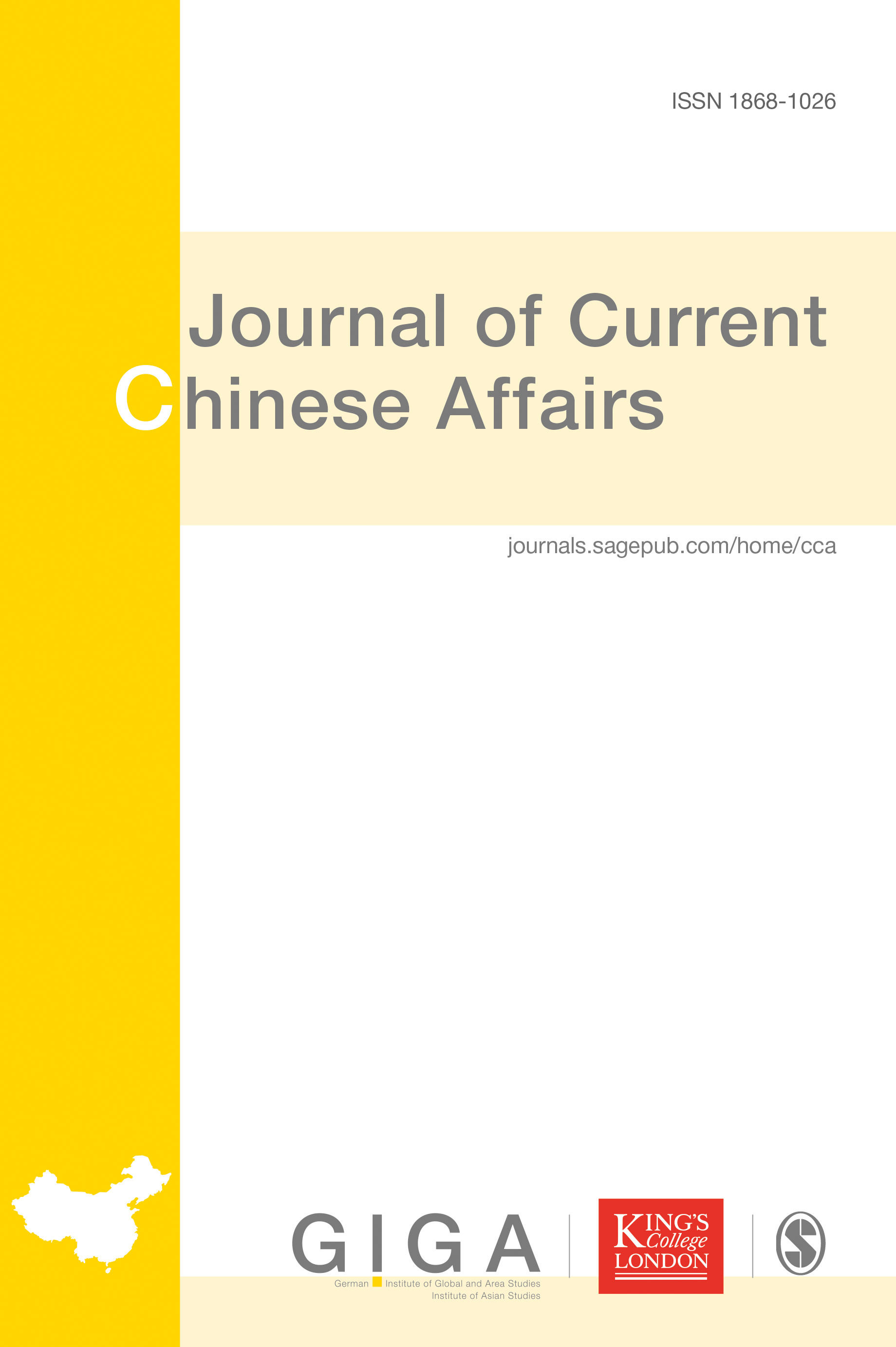 Journal of Current Chinese Affairs