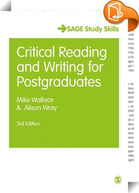 Critical Reading and Writing for Postgraduates image