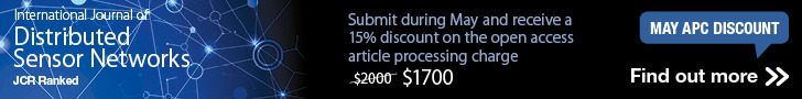 Submit during May and receive a 15% discount on the open access article processing charge. (The charge is reduced from 2000 US dollars to 1700 US dollars