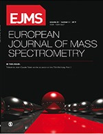 European Journal of Mass Spectrometry cover image