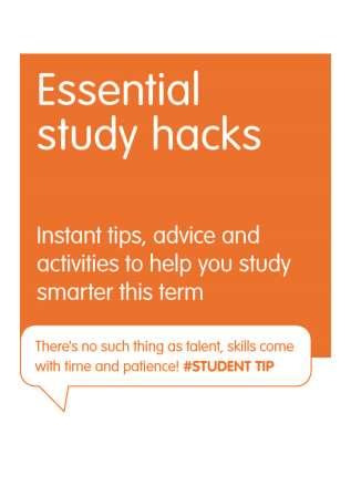 Download the free study hacks eBook