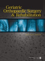 Geriatric Orthopaedic Surgery & Rehabilitation   Cover image