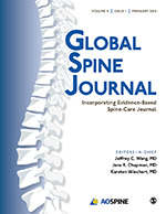 Global Spine Journal cover image