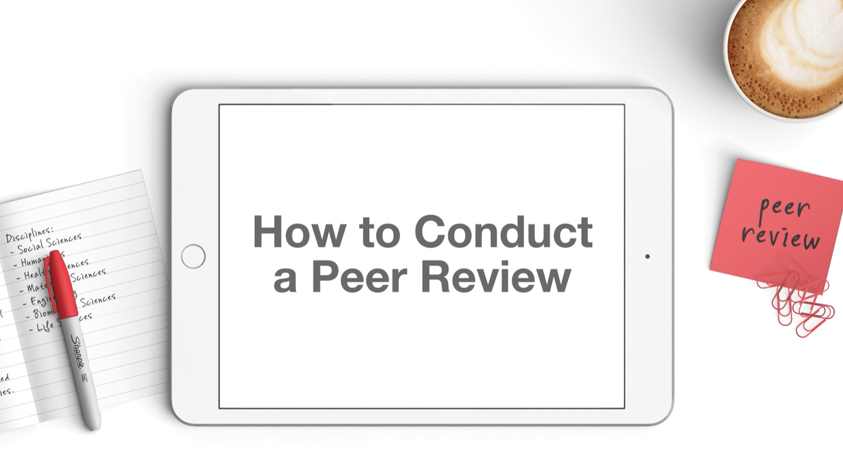 How to Conduct a Peer Review Video