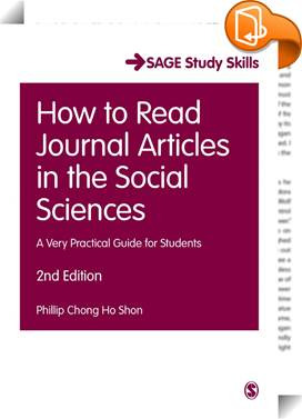 How to Read Journal Articles in the Social Sciences image