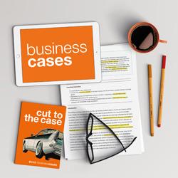 SAGE Business Cases desk scene