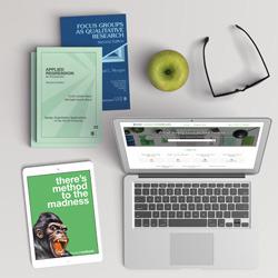 SAGE Research Methods desk scene
