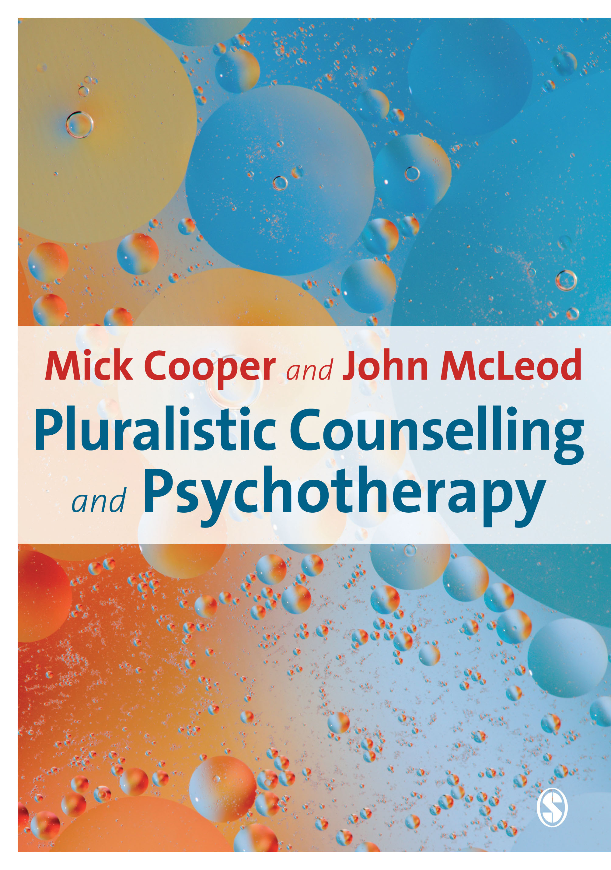 Pluralistic Counselling and Psychotherapy book cover