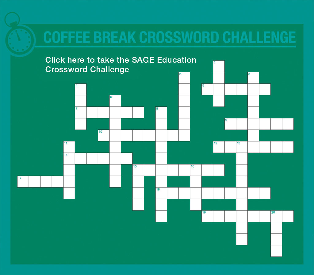 Test yourself Education studies crossword puzzle