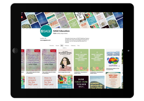 SAGE Education Pinterest