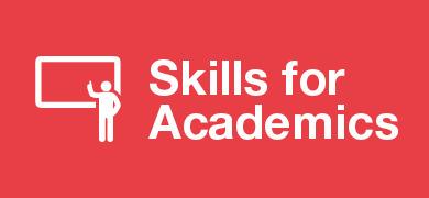 Skills for Academics banner