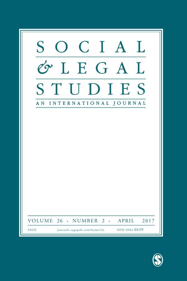 Social & Legal Studies