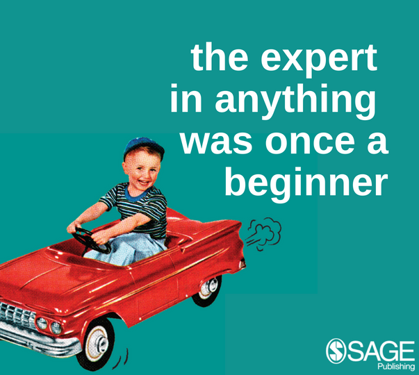 The expert in anything was once a beginner image