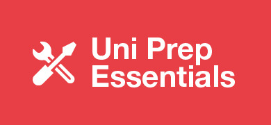 University prep essentials banner