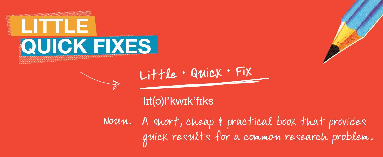 Little Quick Fix Banner