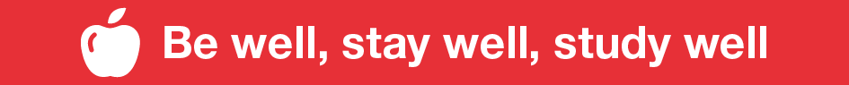 Be well stay well banner image