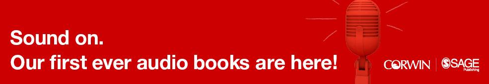 Audio books landing page header