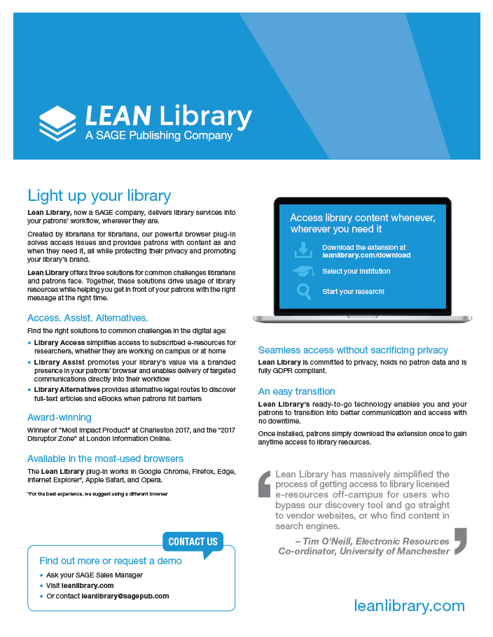 Lean Library_flyer