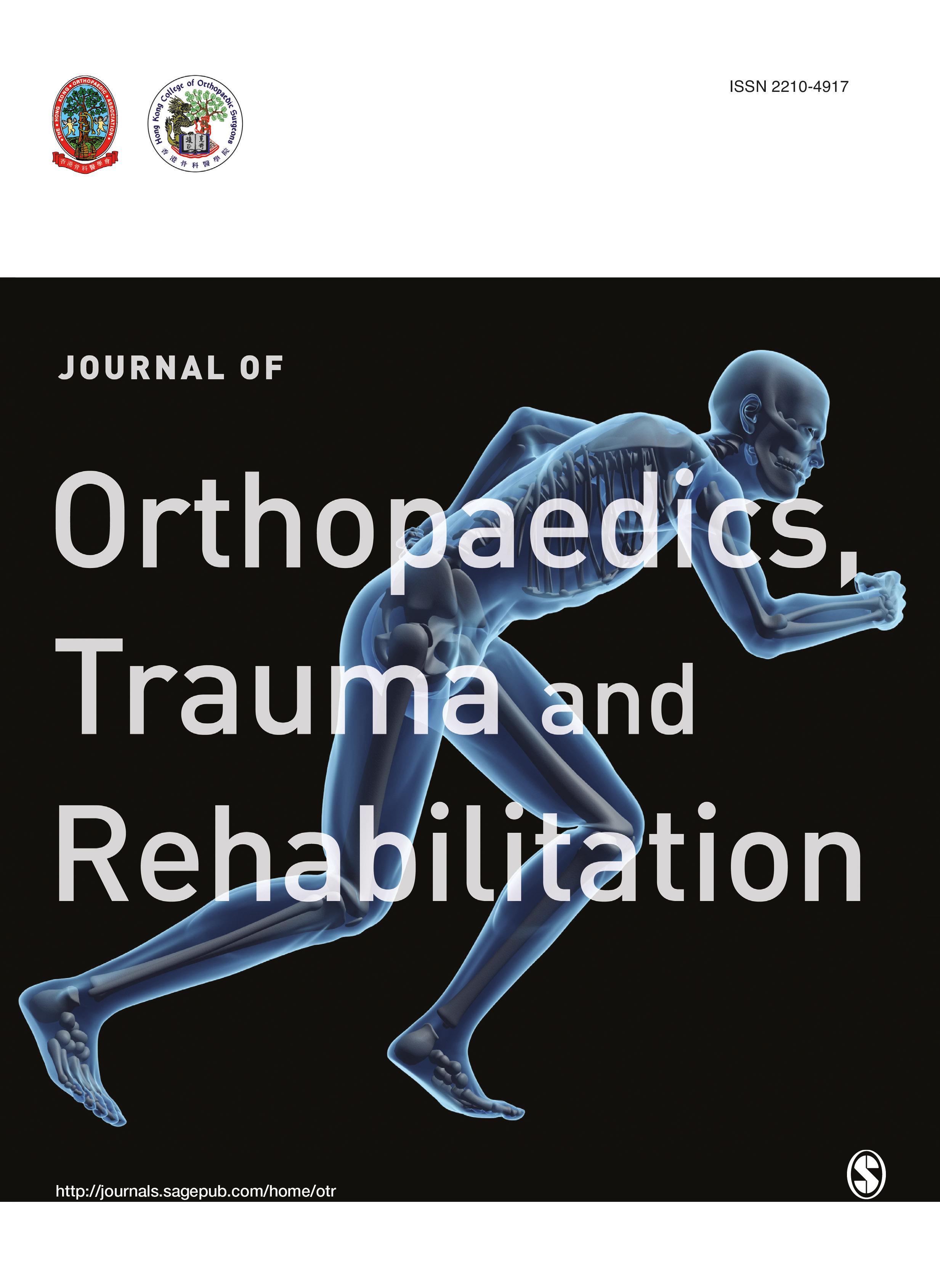 Journal of Orthopaedics, Trauma and Rehabilitation