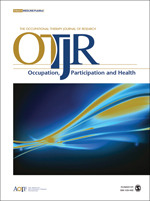 OTJR: Occupation, Participation and Health cover image