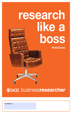SAGE Business Researcher Poster