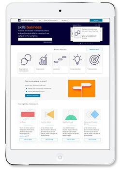 SAGE Skills Business iPad