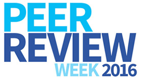 Peer Review Week 2016 carousel