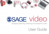 Image of SAGE Video User Guide