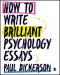 How to Write Brilliant Psychology Essays