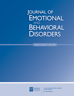 Journal of Emotional and Behavioural Disorders