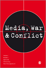 Media, War & Conflict cover image