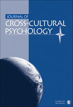 Journal of Cross-Cultural Psychology