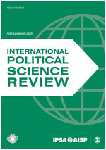 International Political Science Review (IPSR) journal cover