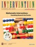 Intervention in School and Clinic