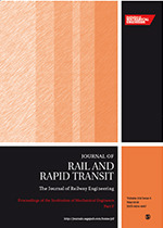 Journal of Rail and Rapid Transit